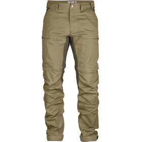 Fjällräven Abisko Lite Trekking - Pantalones de Trekking Hombre - beige